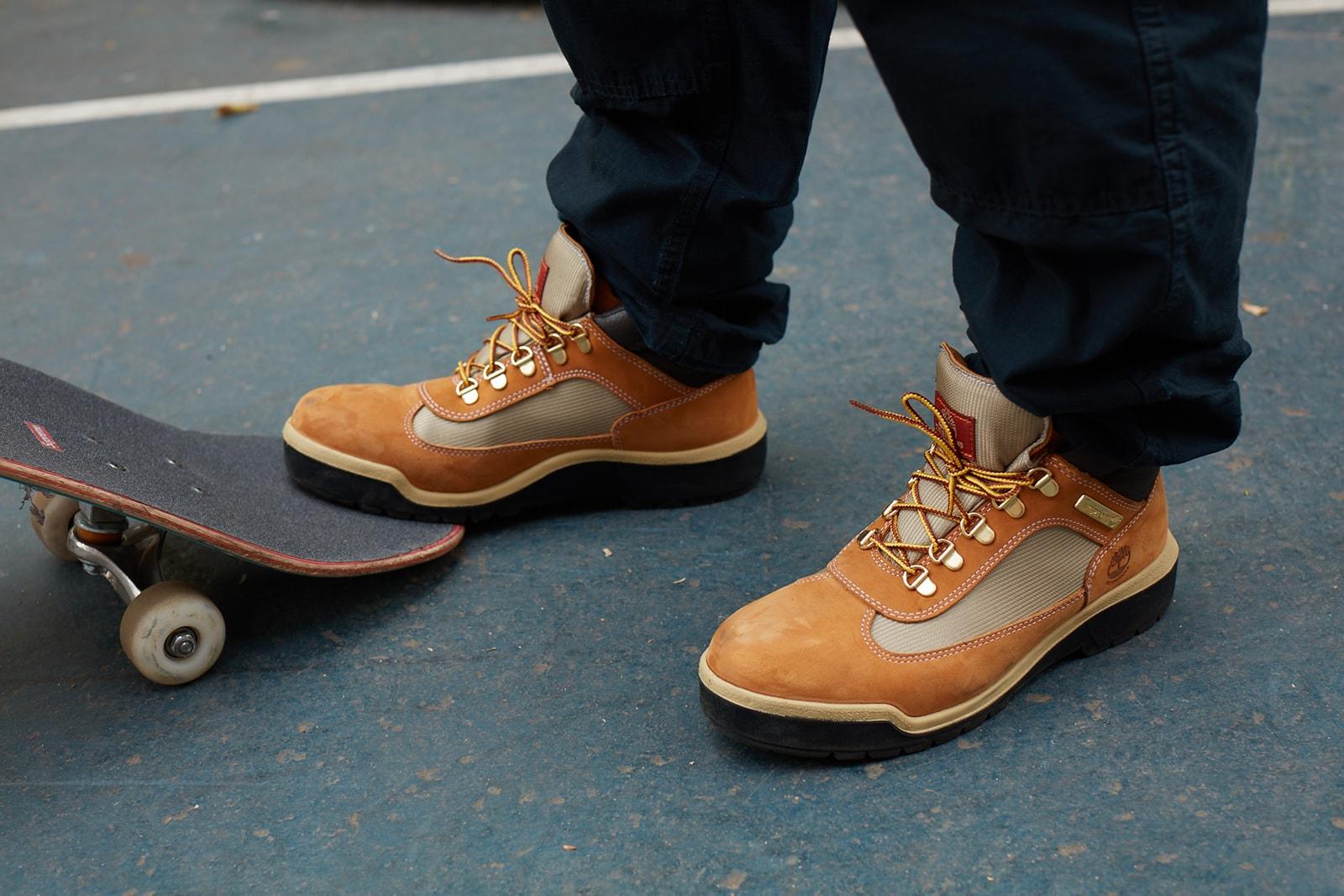 timberland field boot matt mooney skateboarding video nyc new york city
