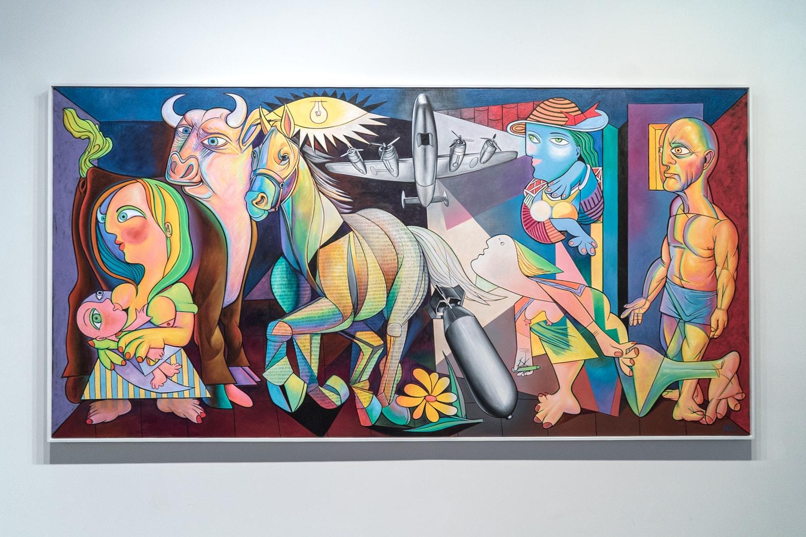Ron English Pablo Picasso 'Guernica'