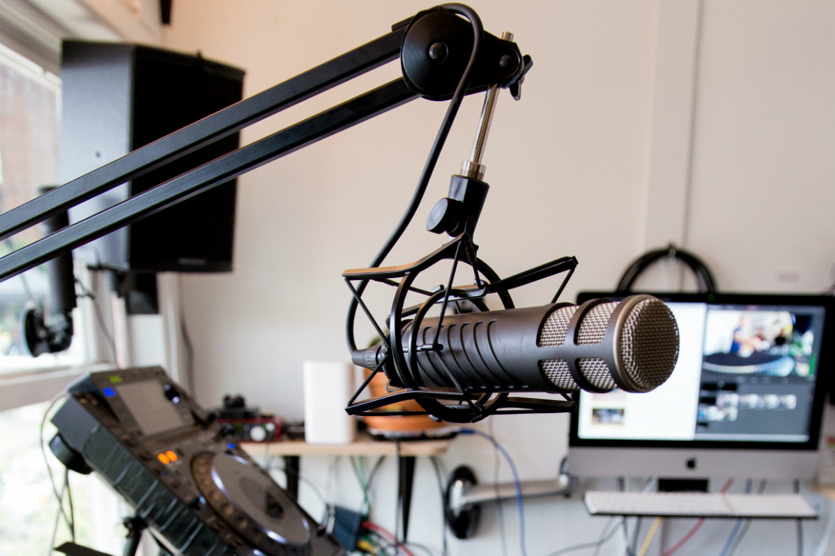 From Shipping Container to Independent Radio Station: Inside The Lot