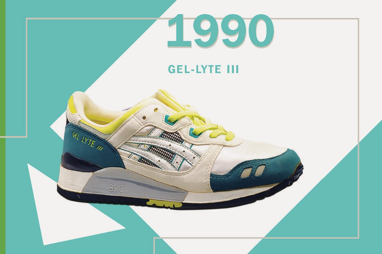 ASICS Tiger GEL sneaker timeline