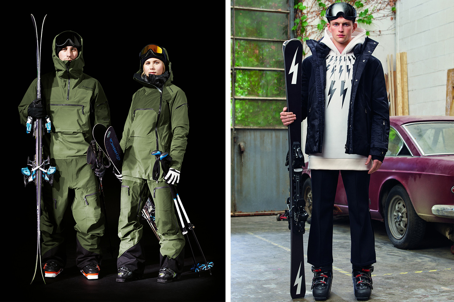 Streetwear Skiwear Skiing Snowboarding The North Face Supreme Moncler Burton