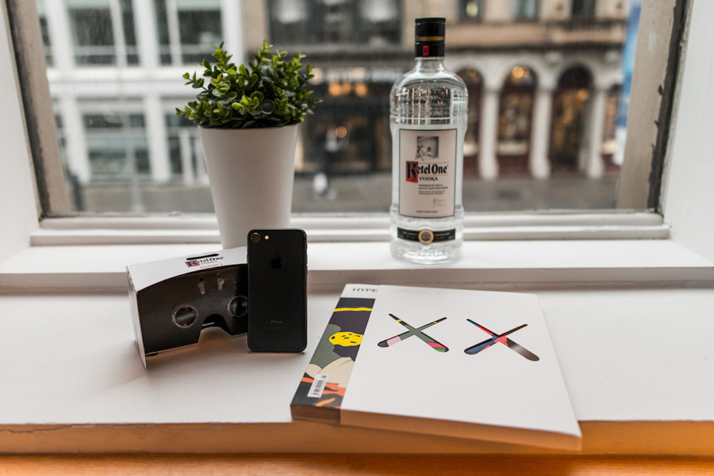 ketel one limited edition virtual reality viewer