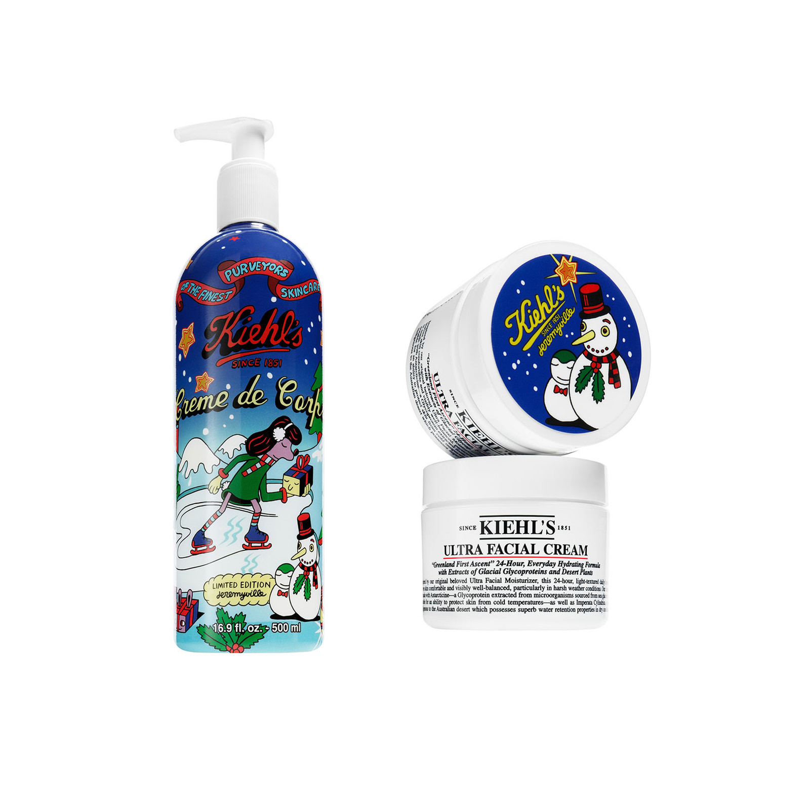 Kiehl's Jeremyville Crème de Corps + Ultra Facial Cream
