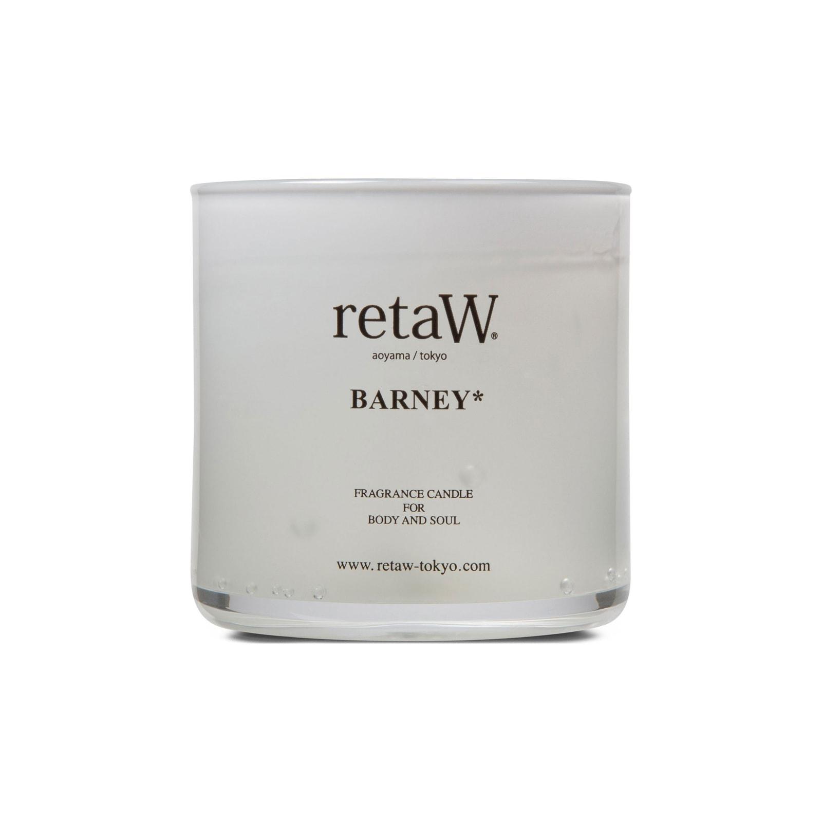 retaW Barney Gel Candle