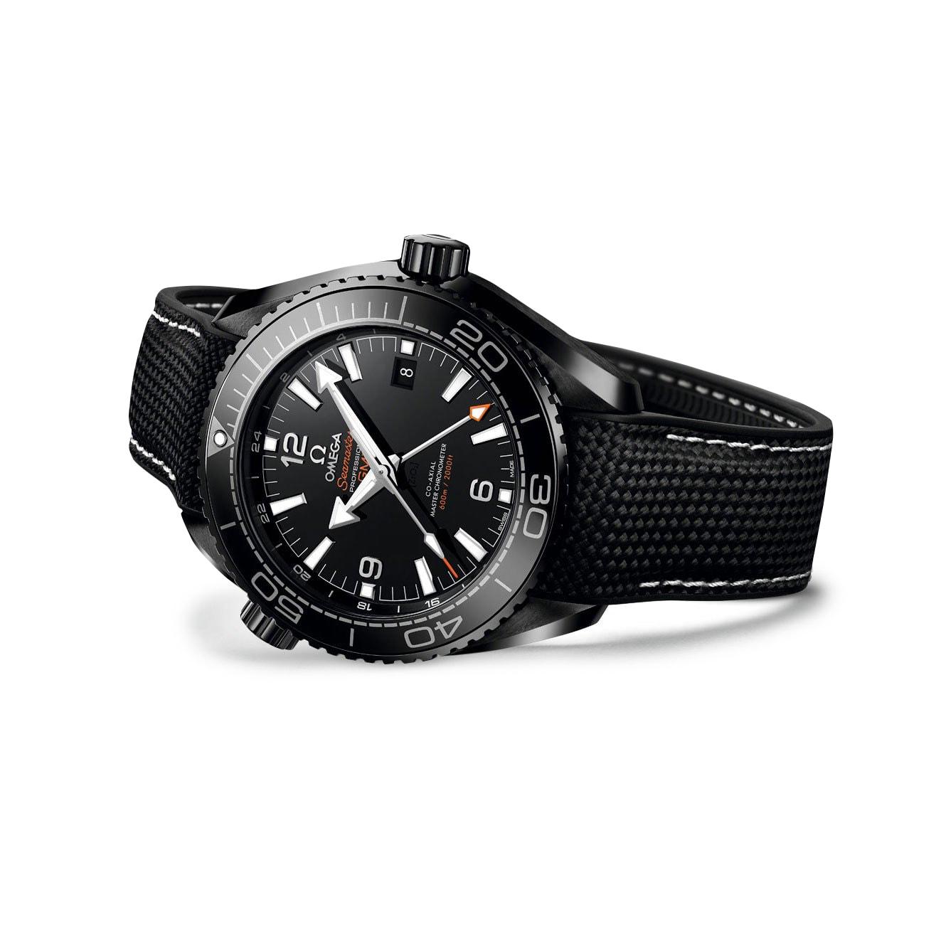 "OMEGA Seamaster Planet Ocean Master Chronometer ""Deep Black"" 600M"