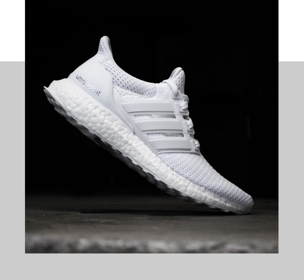 "43647c35f adidas UltraBOOST ""Triple White"""