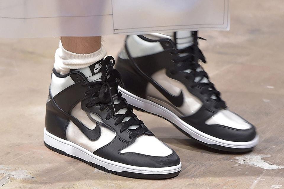 nouveau style 4efac 24680 COMME des GARÇONS HOMME Plus x Nike Dunk High Price | HYPEBEAST