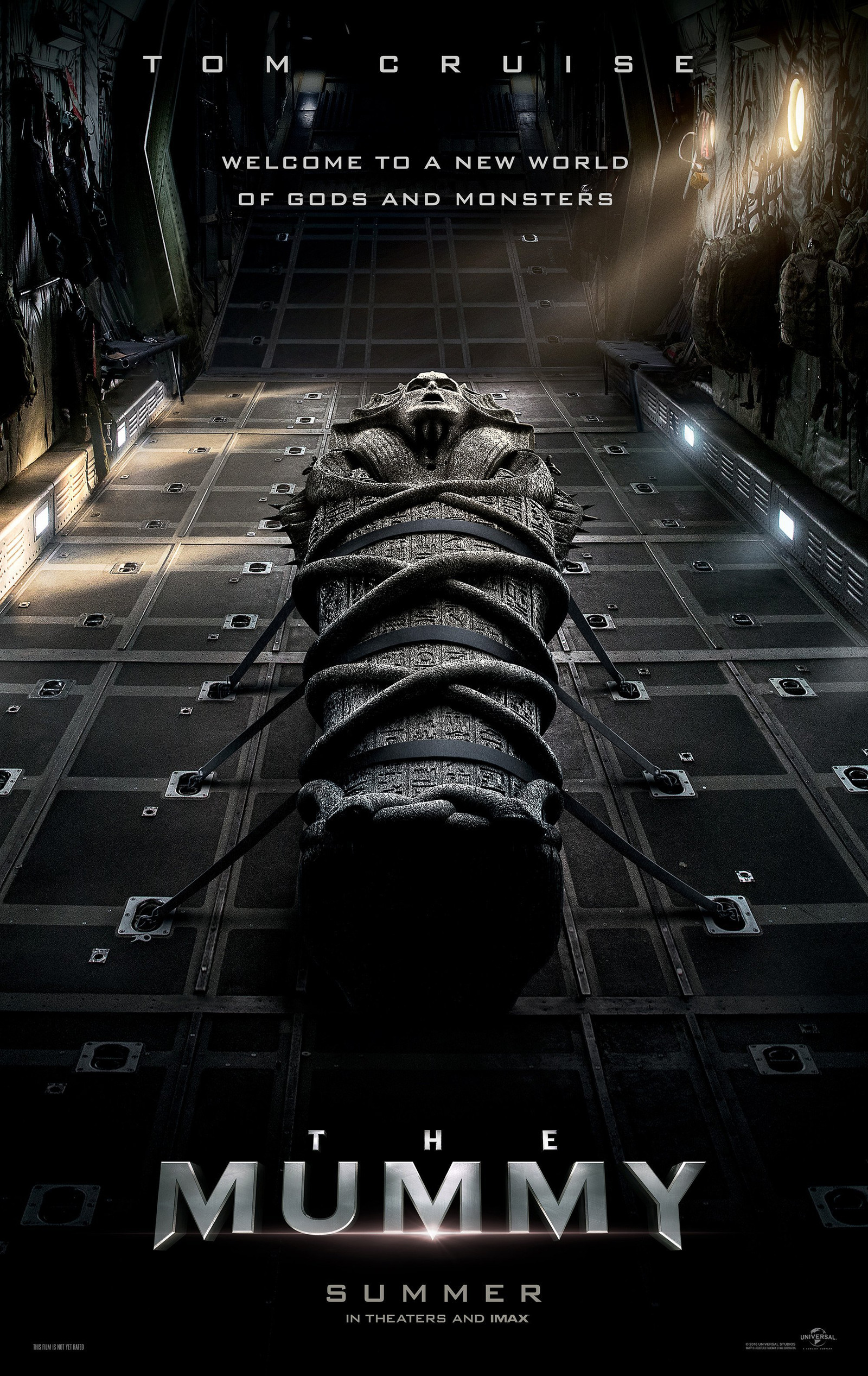 The Mummy Teaser Trailer Tom Cruise Russell Crowe