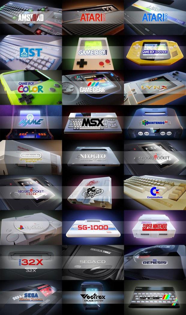 RetroEngine Sigma Mini Console Media Player