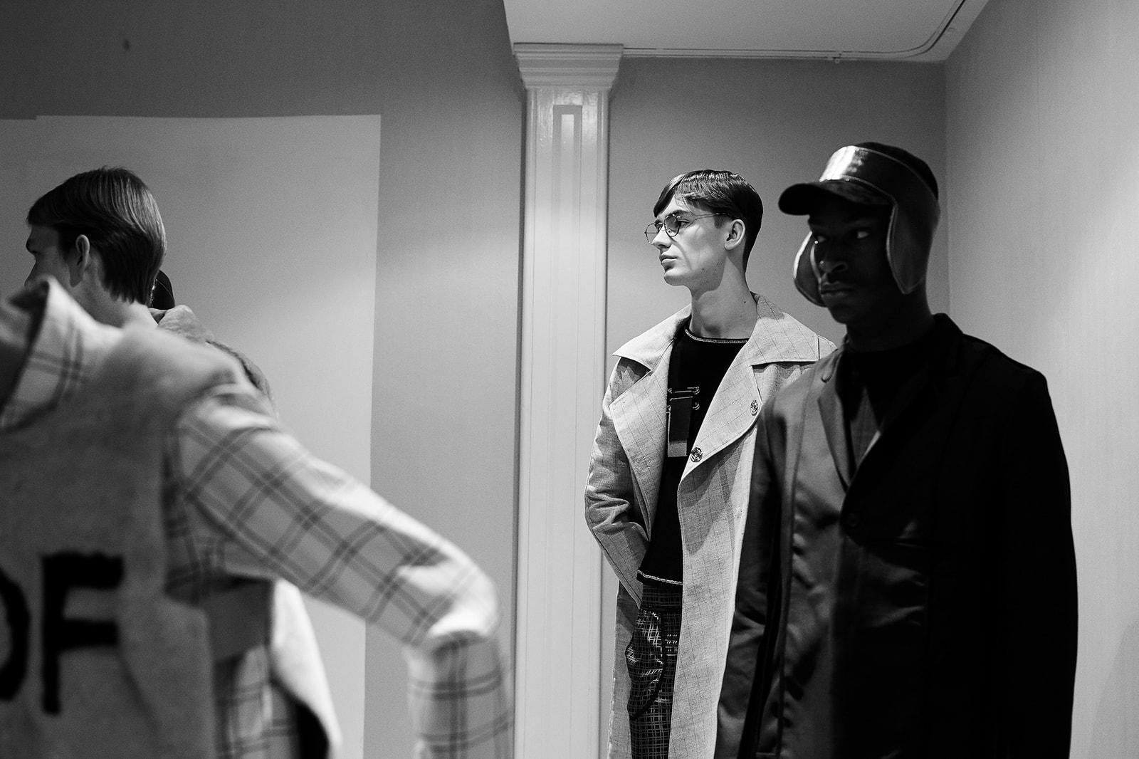 Daniel W. Fletcher Autumn/Winter 2017 Portrait + Backstage