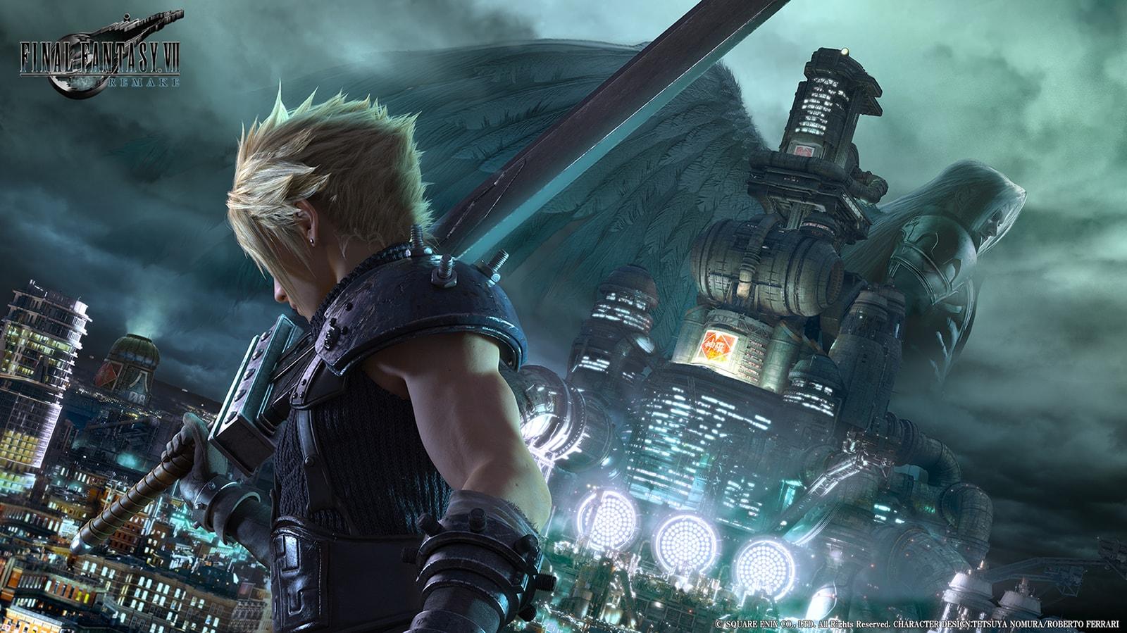 Final Fantasy VII 20th Anniversary Remake Teaser