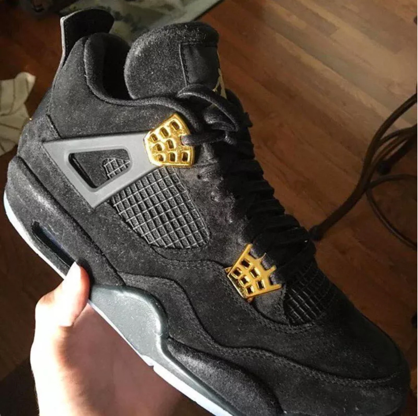 f1522adeef89 A KAWS x Air Jordan 4 Collaboration Is on Its Way Sneakers Brian Donnelly  Swoosh