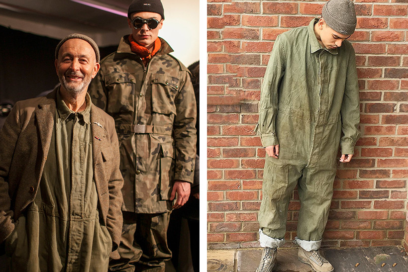 05fed5c9ad7c How Nigel Cabourn Integrates Military Inspiration into His 2017 Fall Winter  Collection London Fashion Week