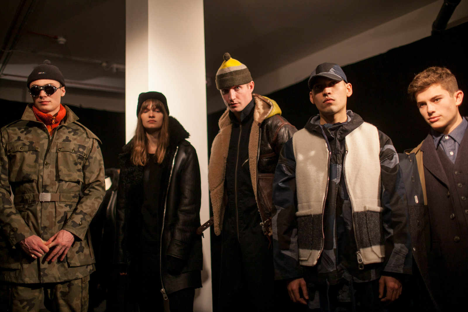How Nigel Cabourn Integrates Military Inspiration into His 2017 Fall/Winter Collection London Fashion Week Men's Runway Show