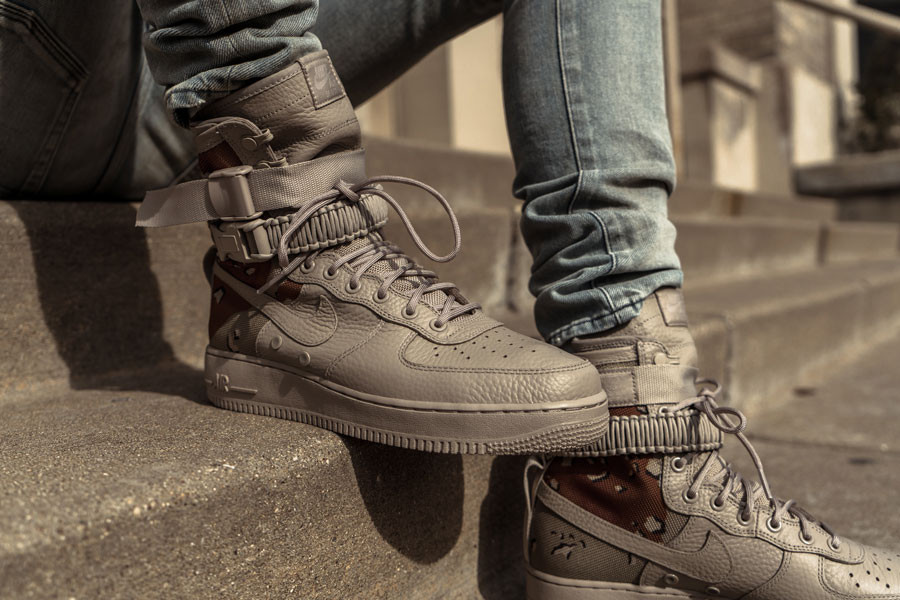 Nike SF-AF1 Special Field Air Force 1 Desert Camo and Dust Closer Looks
