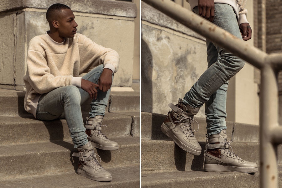 best website edcde 061a9 Nike SF-AF1 Special Field Air Force 1 Desert Camo and Dust Closer Looks