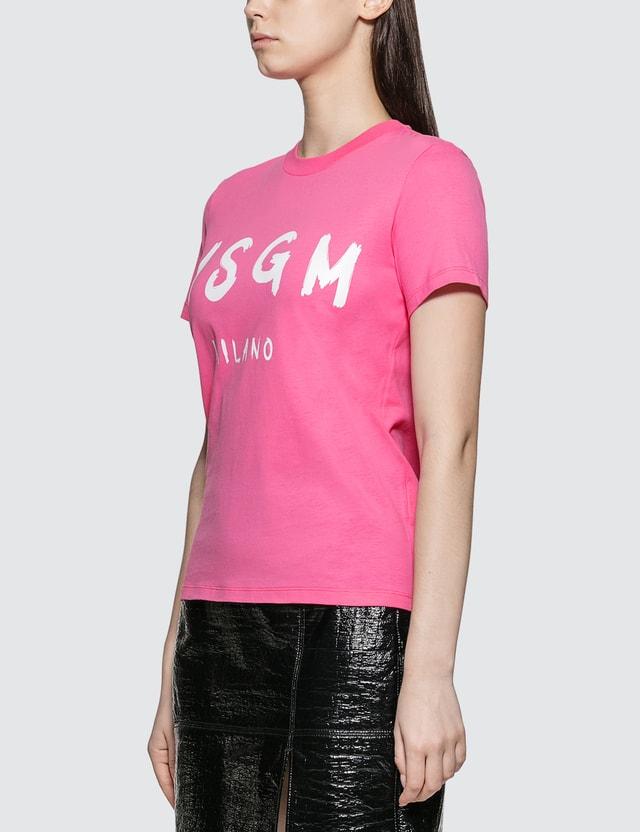 MSGM MSGM Blush Logo T-shirt