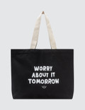 The Quiet Life Worry About It Tote Bag Picture