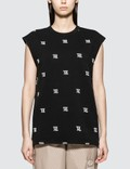 Misbhv Monogram Embro Sleeveless T-shirt Picutre