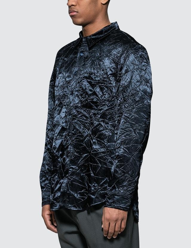 Sies Marjan Sander Crinkled Satin Shirt