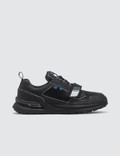 Prada Grain Leather Trim Velcro Strap Sneaker Picutre