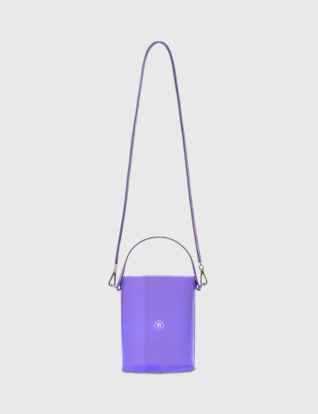 Nana-nana Small PVC Bucket Bag Lavender Women