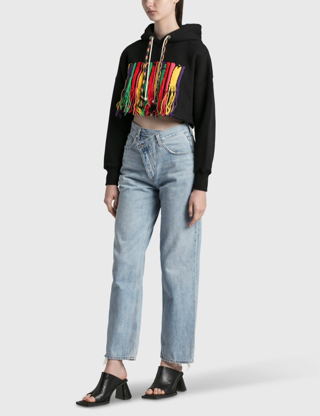 AGOLDE Criss Cross Jeans Blue Women