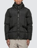Stone Island Hooded down jacket Picture