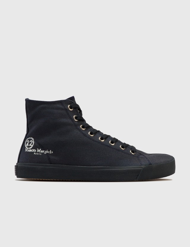 Maison Margiela Tabi High Top Sneaker Dark Navy Men