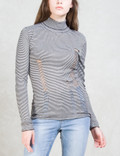 Cheap Monday Scrap Srtipe Knit Sweater Picture