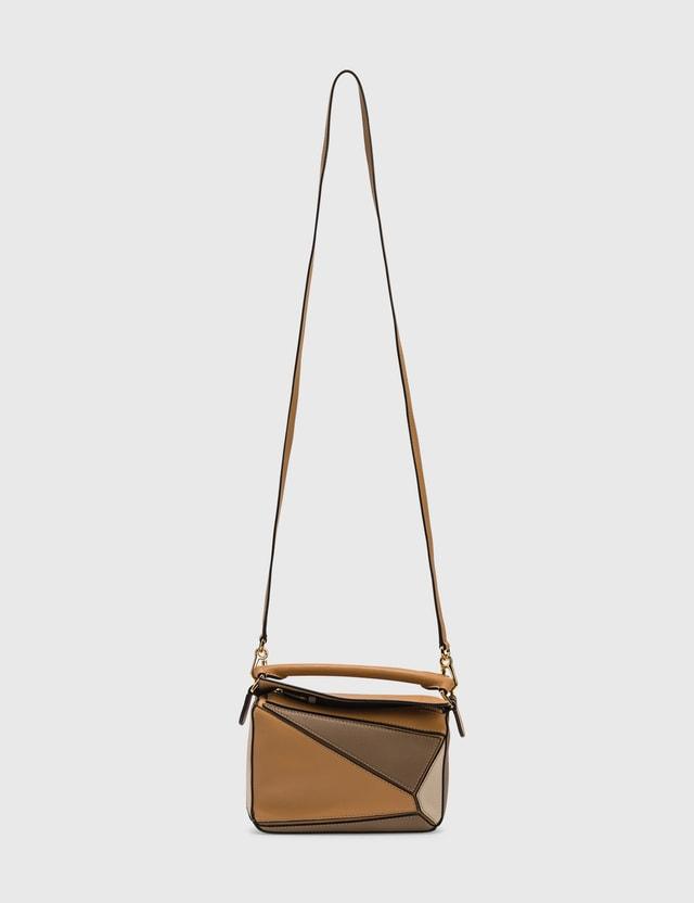 Loewe Mini Puzzle Bag Warm Desert/mink Color Women