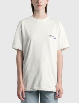 Ader Error Foil Tape Logo T-Shirt