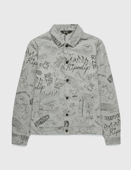 RIPNDIP Sharpie Denim Jacket