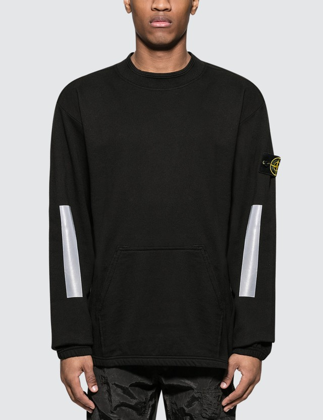 Stone Island Light Gauzed Fleece Sweater