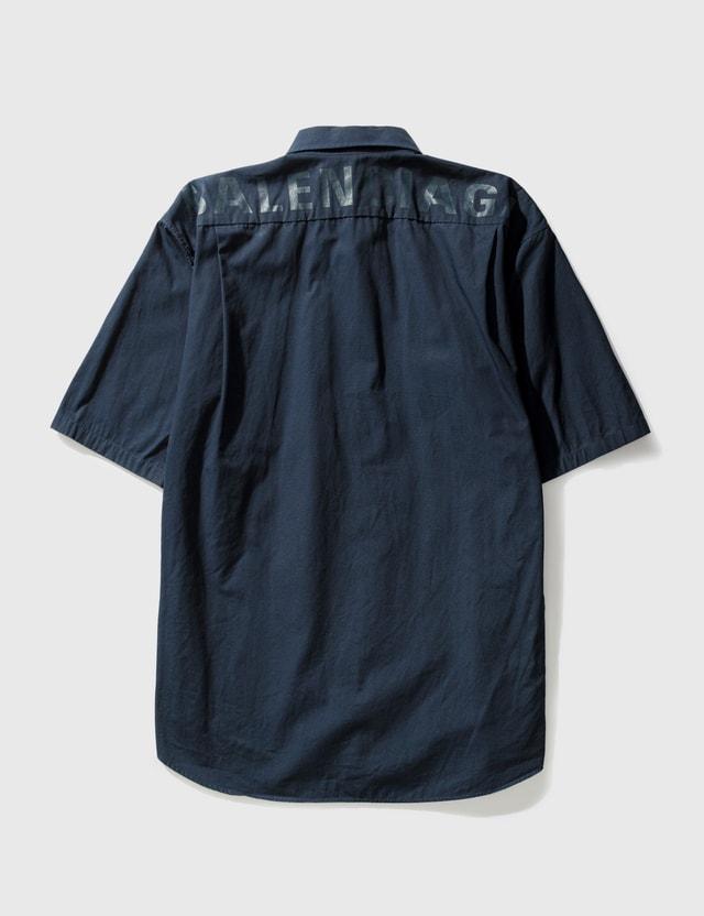 Balenciaga Balenciaga Shirt Navy Men