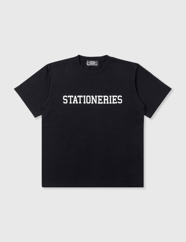 Stationeries by Hypebeast x Fragment STATIONERIES T-Shirt Black Men