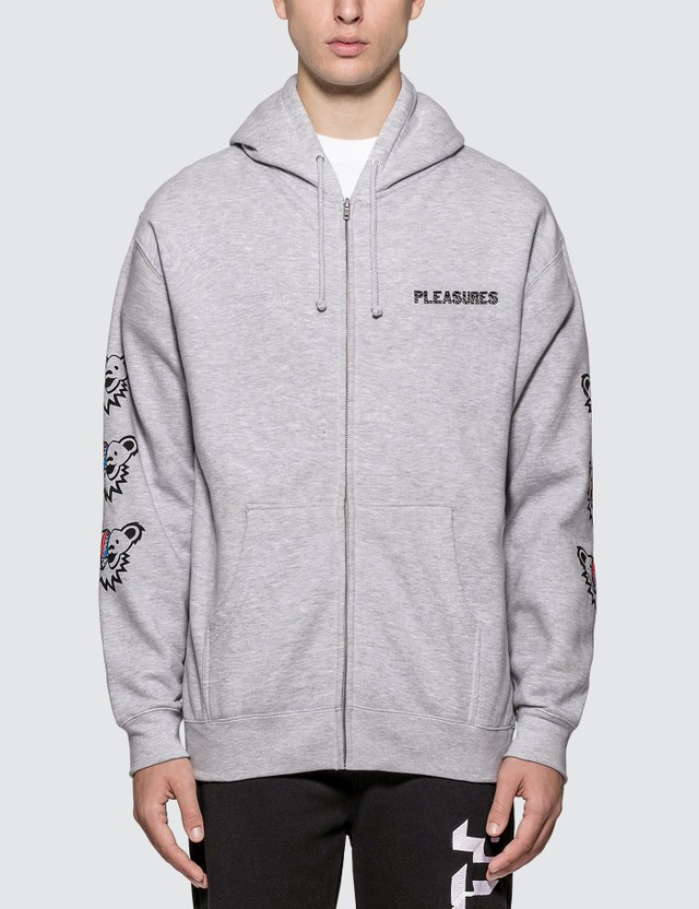 Pleasures Dead Inside Zip Up Hoodie