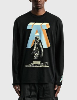 Undercover 'A' Printed Long Sleeve T-shirt