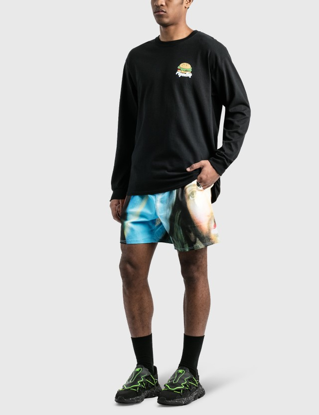 RIPNDIP Fat Hungry Baby Long Sleeve T-Shirt Black Men