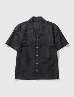 Mastermind Japan Mastermind Japan Black Skull Short Shirt