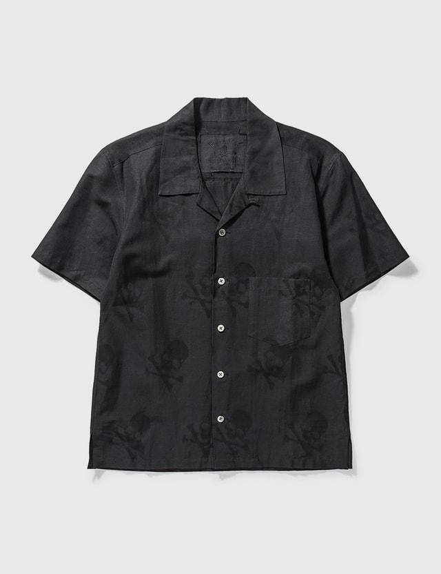 Mastermind Japan Mastermind Japan Black Skull Short Shirt Black Archives