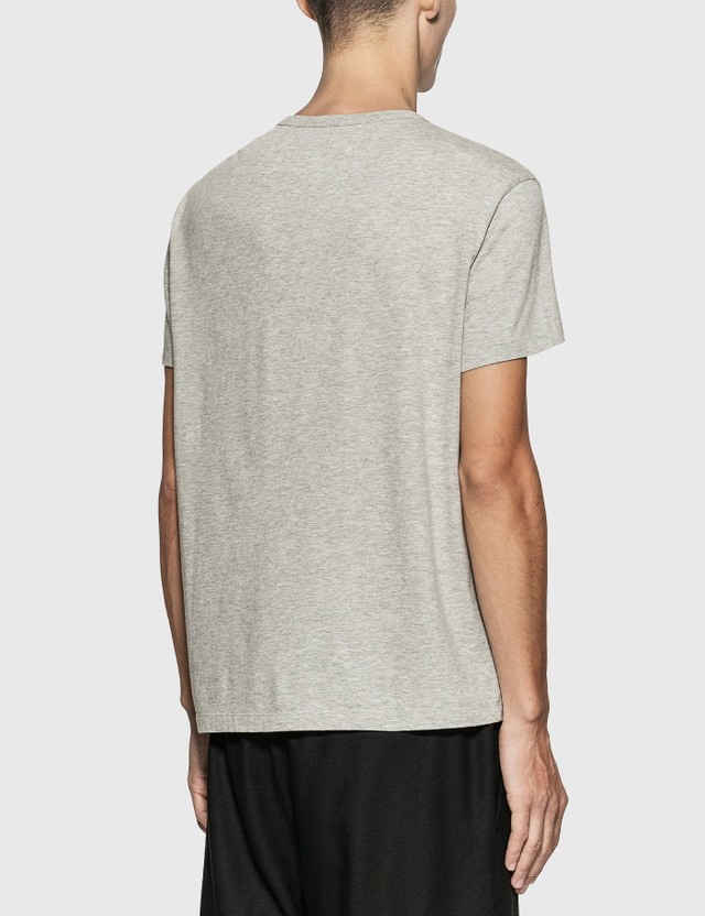 Maison Margiela Reversed Logo Embroidery T-Shirt