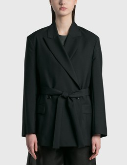 Acne Studios Double-breasted Belted Jacket
