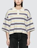 Ader Error Knit Cropped Polo Picture