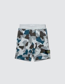 Stone Island Camo Infant Shorts
