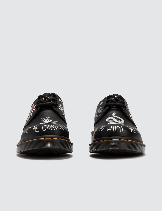 Dr. Martens 1460 Rebel Custom Chaos Backhand Leather Shoes