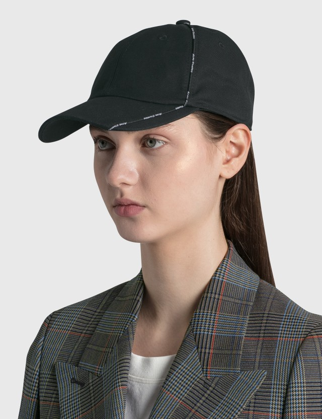 Acne Studios Logo-piping Canvas Cap