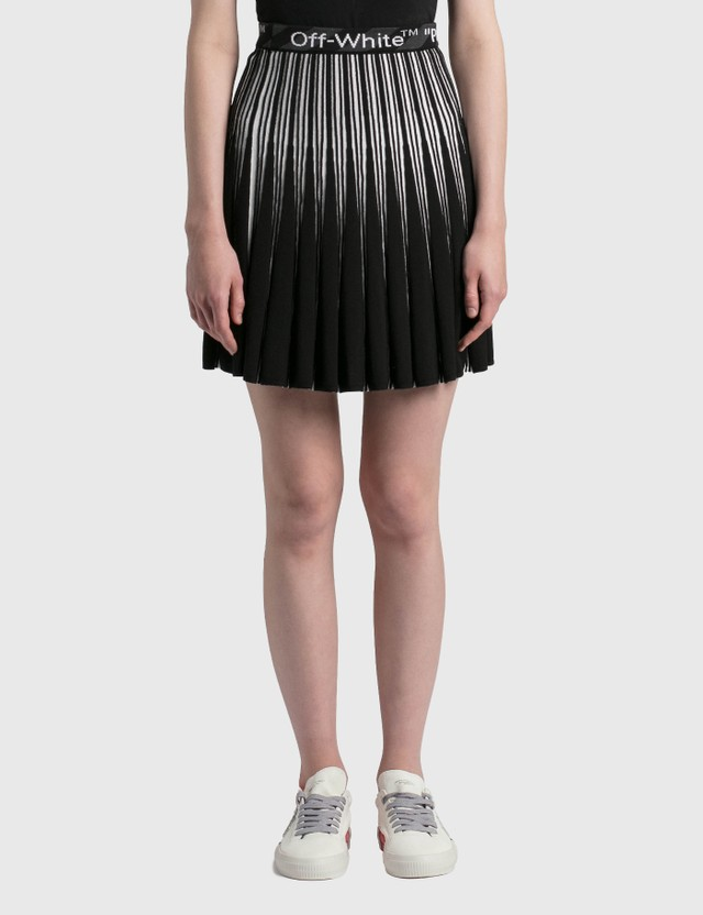 Off-White Bold Mini Skirt Black No Color Women