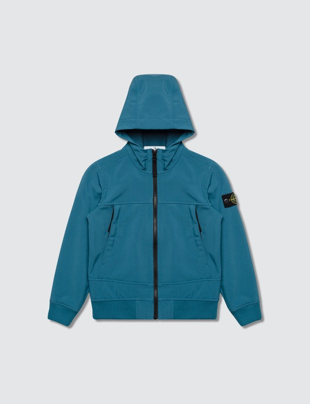 Stone Island Hooded Zip Kids Jacket