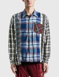 Needles 7 Cuts Flannel Shirt Picutre